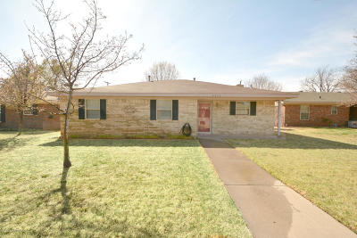 Amarillo Single Family Home For Sale: 5212 Fannin S St