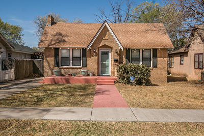 Amarillo Single Family Home For Sale: 3702 Cheyenne Ter