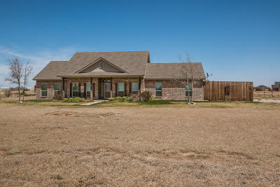 Bushland Single Family Home For Sale: 19922 Indian Spring Trl