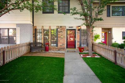 Amarillo Condo/Townhouse For Sale: 4401 Alicia Dr