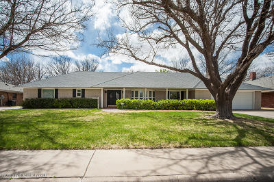 Amarillo Single Family Home For Sale: 3516 Barclay Dr