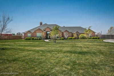 Canyon Single Family Home For Sale: 16338 Prairie Garden Ln