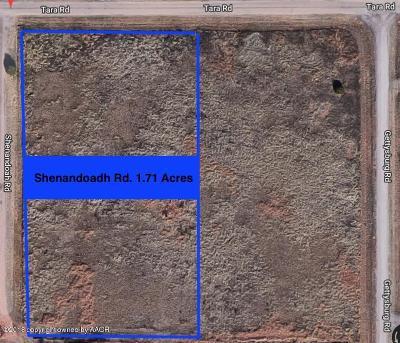 Amarillo Residential Lots & Land For Sale: Shenandoah Rd