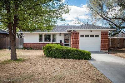 Amarillo Single Family Home For Sale: 4203 Erik