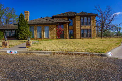 Borger Single Family Home For Sale: 4 Linkshire Dr