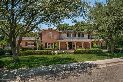 Amarillo Single Family Home For Sale: 2814 Bonham St