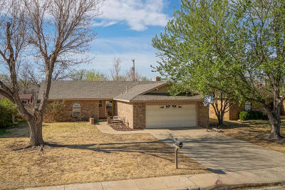 Amarillo Single Family Home For Sale: 5221 Westway Trl