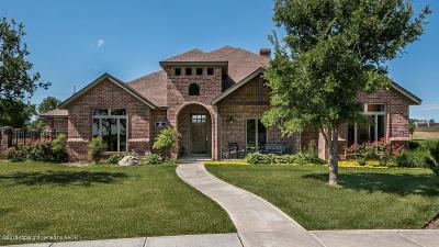 Amarillo Single Family Home For Sale: 12 Valhalla Ln