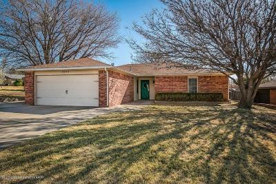 Amarillo Single Family Home For Sale: 5213 Leland Dr