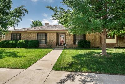 Amarillo Single Family Home For Sale: 3431 Sleepy Hollow Blvd