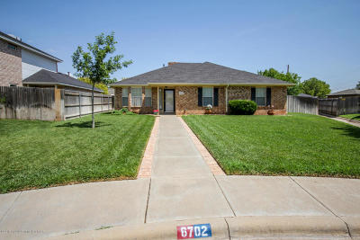 Amarillo Single Family Home For Sale: 6702 Prosper Dr