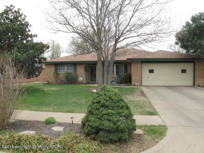 Amarillo Single Family Home For Sale: 4918 Matador Trl