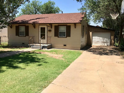 Amarillo Single Family Home For Sale: 4434 Crockett St