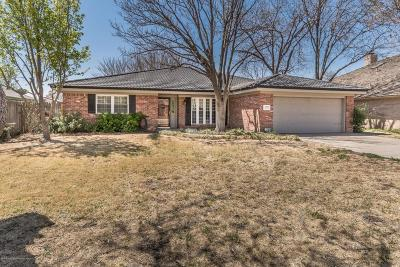 Amarillo Single Family Home For Sale: 3906 Huntington Dr