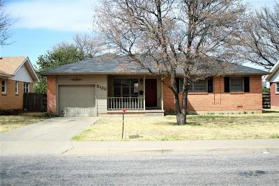 Amarillo Single Family Home For Sale: 5120 16th Ave