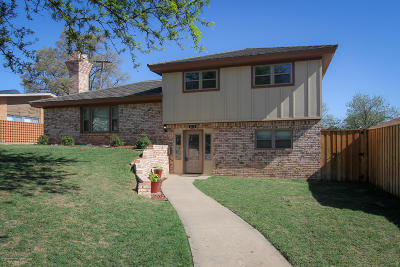 Amarillo Single Family Home For Sale: 4312 Jennie Ave