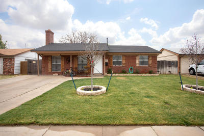 Amarillo Single Family Home For Sale: 2803 Nelson S St