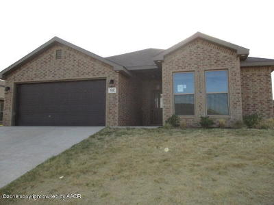 Amarillo Single Family Home For Sale: 7402 Sinclair St