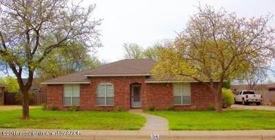 Canyon Single Family Home For Sale: 54 Canyon Rim