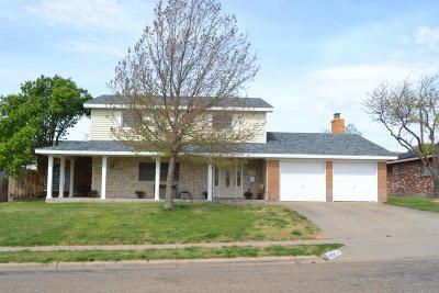 Borger Single Family Home For Sale: 1404 Bluebonnet St