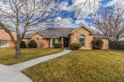 Potter County, Randall County Single Family Home For Sale: 7300 Springwood Dr