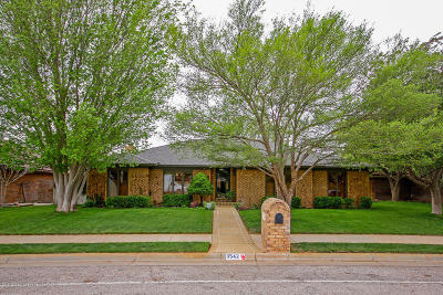 Randall County Single Family Home For Sale: 3542 Sleepy Hollow Blvd
