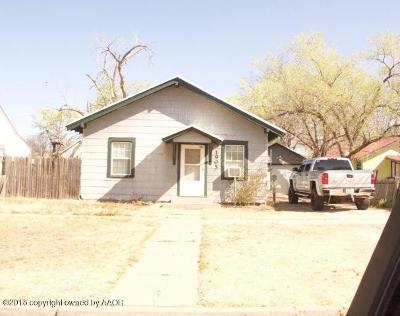 Canyon Single Family Home For Sale: 1905 7th Ave