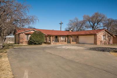 Amarillo Single Family Home For Sale: 3018 Mockingbird Ln