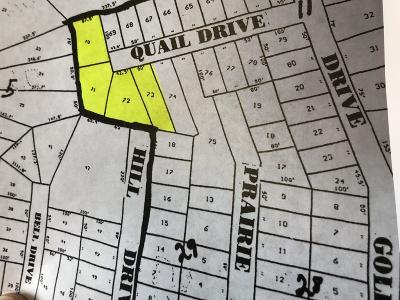 Fritch Residential Lots & Land For Sale: Lots 70-72 Quail Dr.