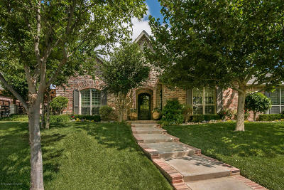 Amarillo Single Family Home For Sale: 7902 Continental Pkwy