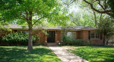 Amarillo Single Family Home For Sale: 2401 Bowie St