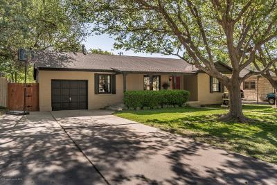 Amarillo Single Family Home For Sale: 1603 Bonham St
