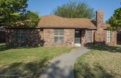 Potter County, Randall County Single Family Home For Sale: 5702 Winkler Dr