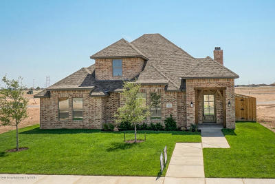 Amarillo Single Family Home For Sale: 6109 Time Sq