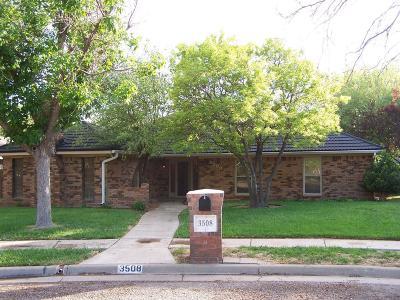 Amarillo Single Family Home For Sale: 3508 Stromberg Pl