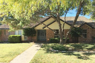 Amarillo Single Family Home For Sale: 7404 Sleepy Hollow Blvd