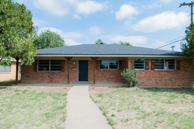 Amarillo Single Family Home For Sale: 5500 34th Ave