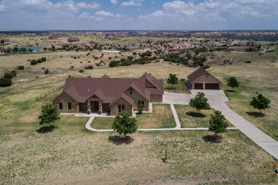 Amarillo Single Family Home For Sale: 15101 Twin Lakes Rd