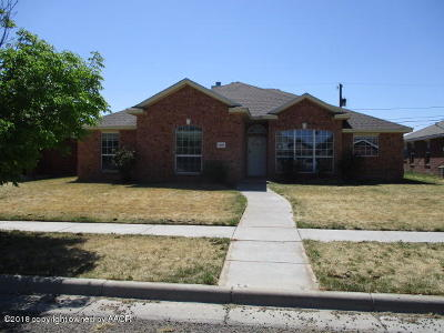 Amarillo Single Family Home For Sale: 4002 Pine St