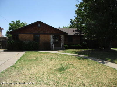Potter County Single Family Home For Sale: 1203 Florida St