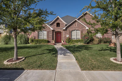 Amarillo Single Family Home For Sale: 7508 Continental Pkwy