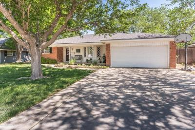 Amarillo Single Family Home For Sale: 7112 Calumet Rd