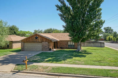 Potter County, Randall County Single Family Home For Sale: 7800 Cervin Dr