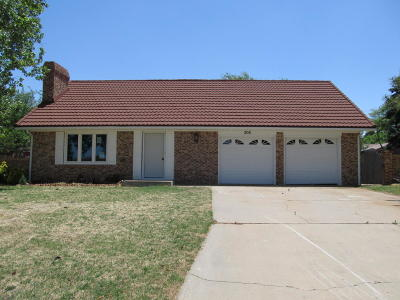 Tulia Single Family Home For Sale: 308 Buffalo Trl