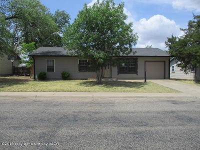 Amarillo Single Family Home For Sale: 2427 Walnut St