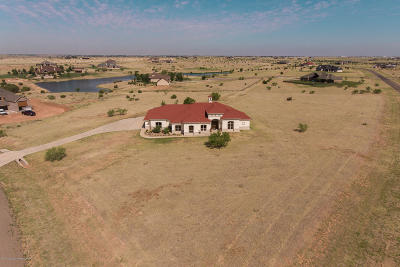 Amarillo Single Family Home For Sale: 15000 Canyon Pass Rd