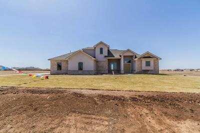 Amarillo Single Family Home For Sale: 9191 Strawberry Fields Drive East E
