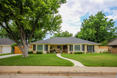 Potter County, Randall County Single Family Home For Sale: 6311 Elmhurst Rd
