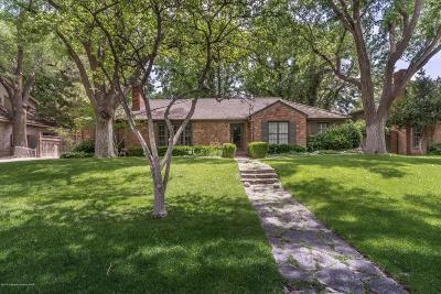 Amarillo Single Family Home For Sale: 2409 Lipscomb St