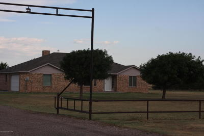 Amarillo Single Family Home For Sale: 9110 Dowell Rd